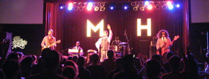Mayer Hawthorne at Asheville's Orange Peel. Photo (c) Bill Kopp