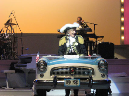 Paul Revere and the Raiders, Branson MO 2010. Photo (c) Bill Kopp.