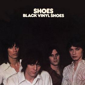 Black Vinyl Shoes Numero