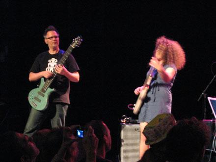 Markus Reuter and Julie Slick